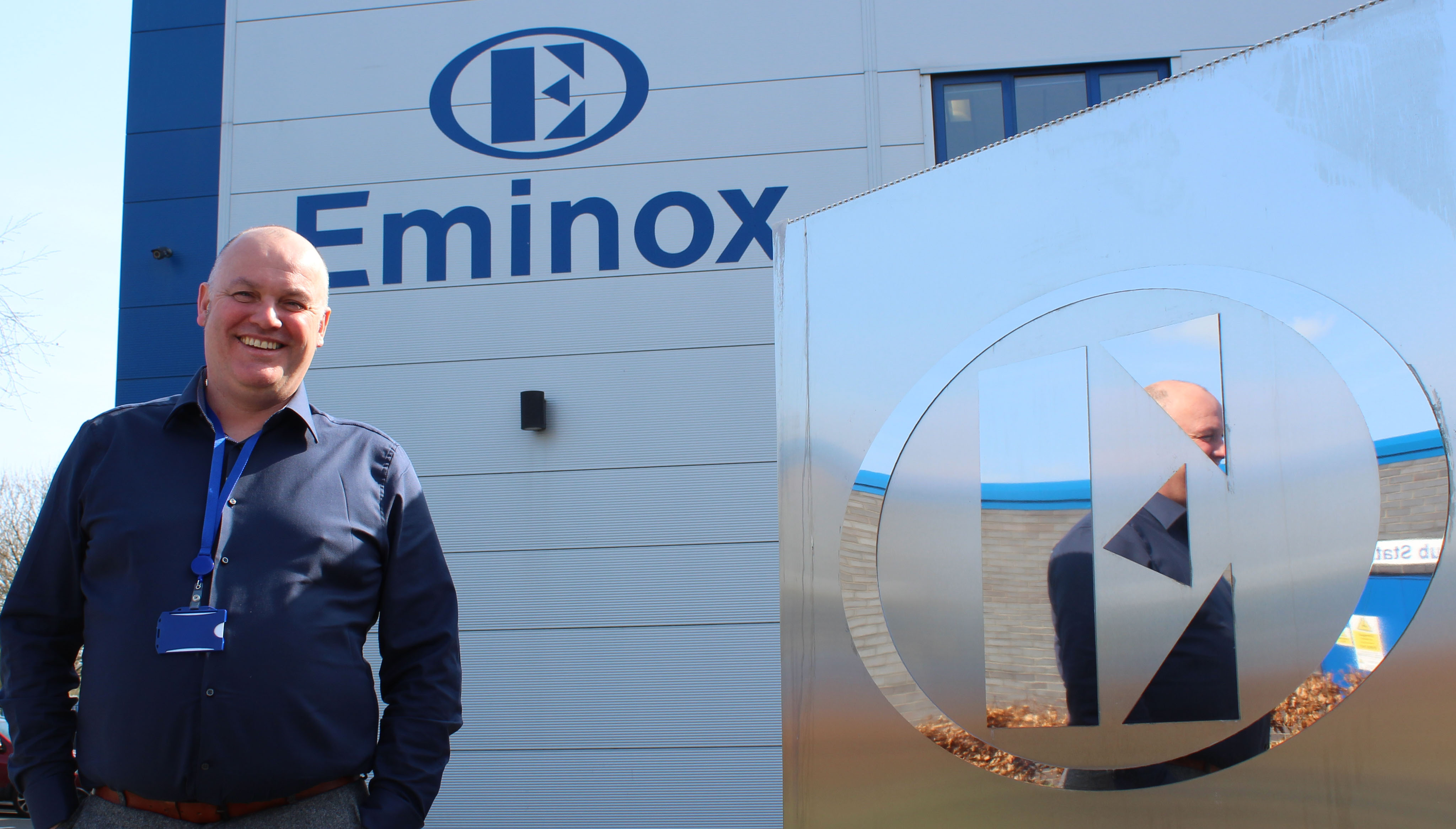 Martin Edwards, Operations Director for Eminox
