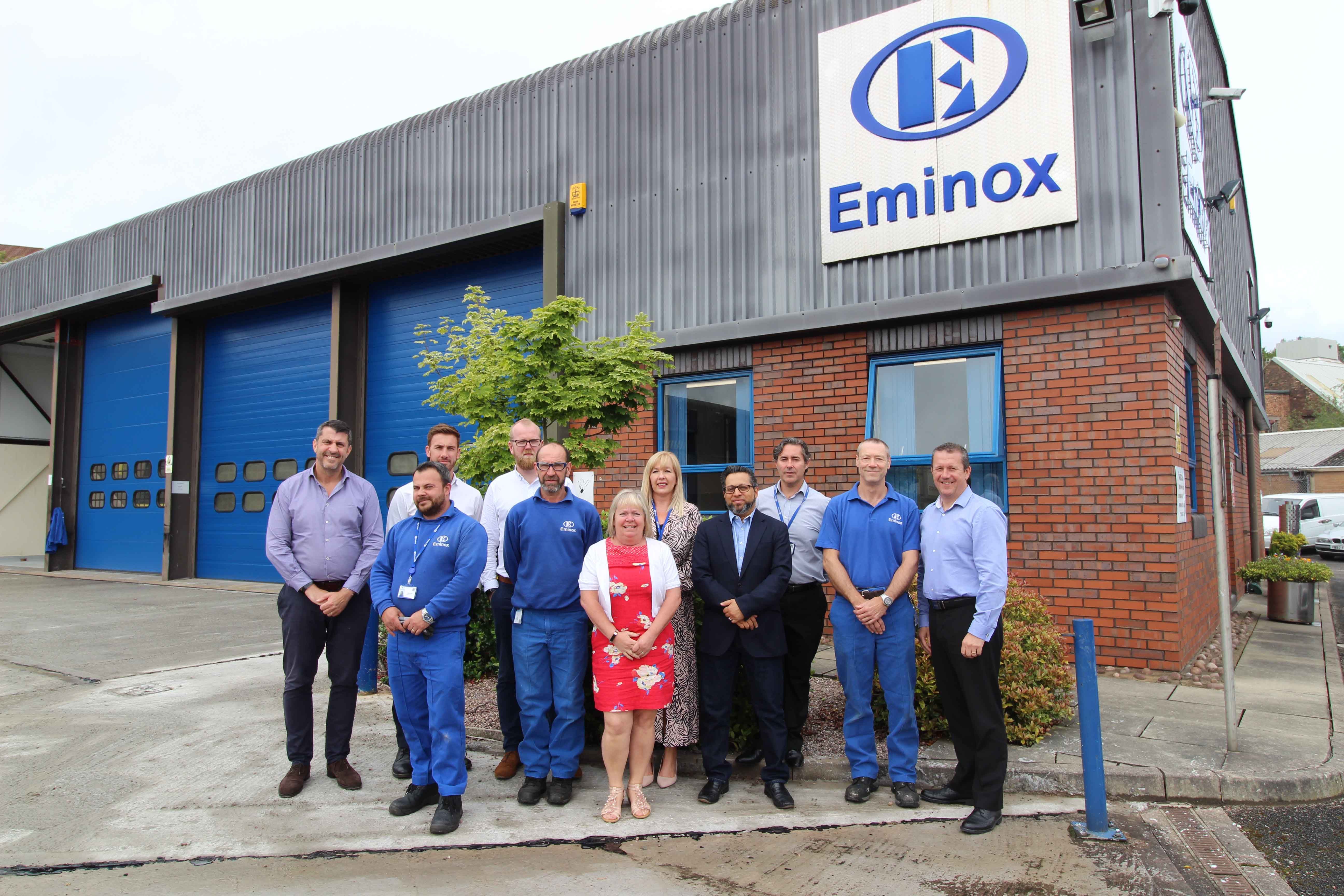Eminox opens new Retrofit Service and Support Centre and