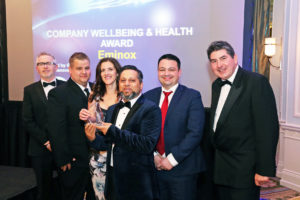 Eminox win Wellbeing and Health AMPS Award